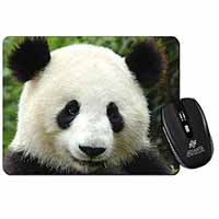 Face of a Giant Panda Bear Computer Mouse Mat Birthday Gift Idea