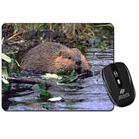 River Beaver Computer Mouse Mat Birthday Gift Idea