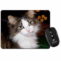 Beautiful Tabby Cat Computer Mouse Mat Birthday Gift Idea