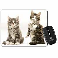 Tabby Cats Computer Mouse Mat Birthday Gift Idea