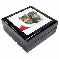 Christmas Kittens Keepsake/Jewel Box Birthday Gift Idea