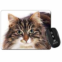 Face of Tortoiseshell Cat Computer Mouse Mat Birthday Gift Idea