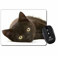 Stunning Black Cat Computer Mouse Mat Birthday Gift Idea