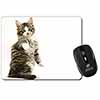 Good Luck Paw Up Cat Computer Mouse Mat Christmas Gift Idea