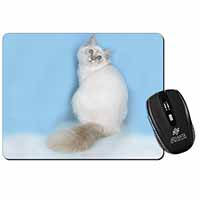 Pretty Birman Kitten Computer Mouse Mat Birthday Gift Idea