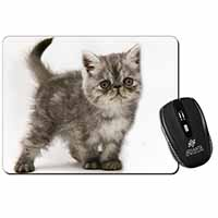 Silver Exotic Kitten Computer Mouse Mat Birthday Gift Idea