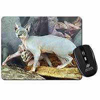 Sphynx Cat Computer Mouse Mat Birthday Gift Idea