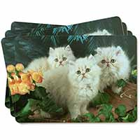 Cream Persian Kittens Picture Placemats in Gift Box