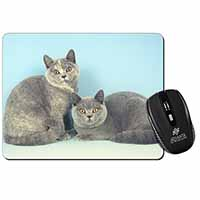 British Shorthair Cats Computer Mouse Mat Birthday Gift Idea