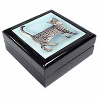 Egyptian Mau Cat Keepsake/Jewel Box Birthday Gift Idea