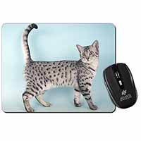 Egyptian Mau Cat Computer Mouse Mat Birthday Gift Idea
