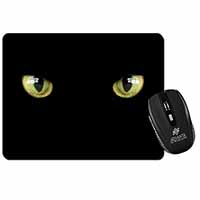 Black Cats Night Eyes Computer Mouse Mat Birthday Gift Idea