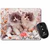 Persian Kittens by Roses