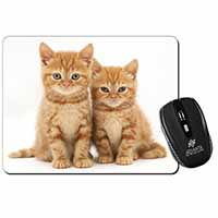 Two Ginger Kittens Computer Mouse Mat Birthday Gift Idea
