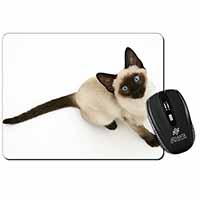 Siamese Cat Computer Mouse Mat Birthday Gift Idea