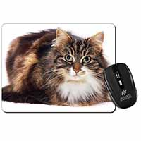 Beautiful Brown Tabby Cat Computer Mouse Mat Birthday Gift Idea