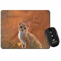 Lion Spirit on Kitten Watch Computer Mouse Mat Birthday Gift Idea