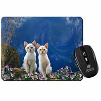 Fantasy Panther Watch on Kittens Computer Mouse Mat Birthday Gift Idea