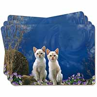 Fantasy Panther Watch on Kittens Picture Placemats in Gift Box