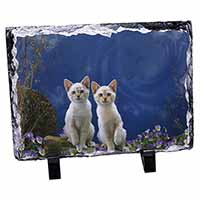 Fantasy Panther Watch on Kittens Photo Slate Photo Ornament Gift