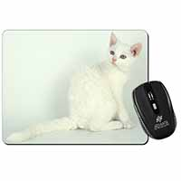 White American Wire Hair Cat Computer Mouse Mat Christmas Gift Idea