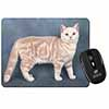 British Shorthair Ginger Cat Computer Mouse Mat Christmas Gift Idea