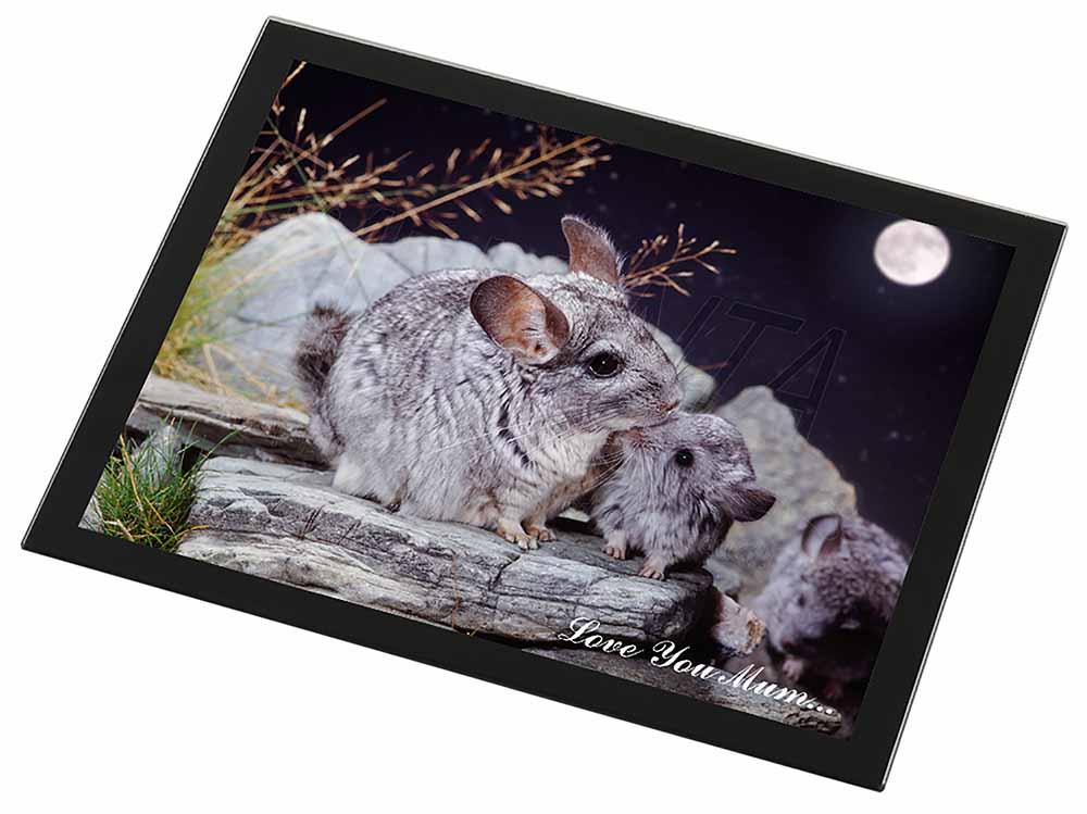 moonlight chinchillas 39 love you mum 39 black rim glass. Black Bedroom Furniture Sets. Home Design Ideas