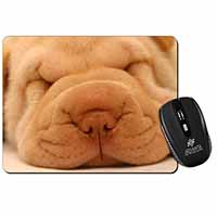 Cute Shar-Pei Puppy Dog Computer Mouse Mat Birthday Gift Idea