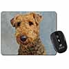 Airedale Terrier Dog Computer Mouse Mat Christmas Gift Idea