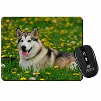 Alaskan Malamute Dog Computer Mouse Mat Birthday Gift Idea