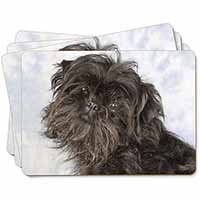 Affenpinscher Dog Picture Placemats in Gift Box