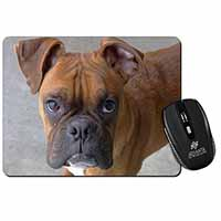 Red Boxer Dog Computer Mouse Mat Birthday Gift Idea