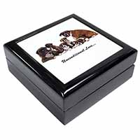 Boxer Dog-Love Keepsake/Jewel Box Birthday Gift Idea