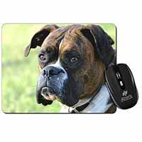 Brindle and White Boxer Dog Computer Mouse Mat Birthday Gift Idea