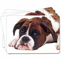 Boxer Dog Picture Placemats in Gift Box