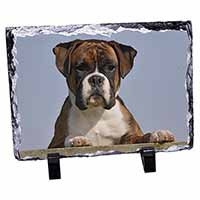 Boxer Dog Photo Slate Christmas Gift Idea