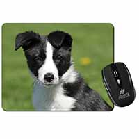 Border Collie Puppy Computer Mouse Mat Birthday Gift Idea