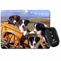 Border Collie Computer Mouse Mat Birthday Gift Idea
