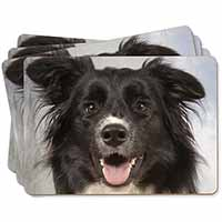 Border Collie Dog Picture Placemats in Gift Box