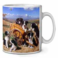 Border Collie in Wheelbarrow Coffee/Tea Mug Gift Idea
