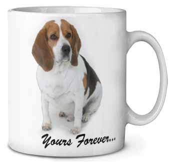 "Beagle Dog ""Yours Forever..."" Coffee/Tea Mug Gift Idea"