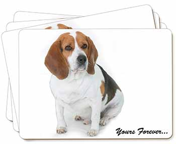 "Beagle Dog ""Yours Forever..."" Picture Placemats in Gift Box"