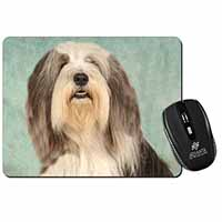 Bearded Collie Dog Computer Mouse Mat Birthday Gift Idea
