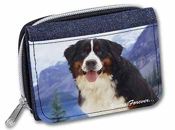 Bernese Mountain Dog Girls/Ladies Denim Purse Wallet Birthday Gift Idea