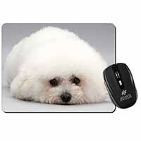 Bichon Frise Dog Computer Mouse Mat Birthday Gift Idea