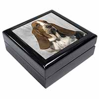 Basset Hound Dog Keepsake/Jewel Box Birthday Gift Idea