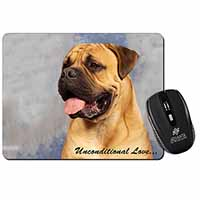 Bullmastiff Dog-With Love Computer Mouse Mat Birthday Gift Idea