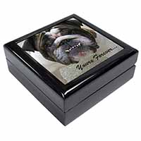 "Bulldog ""Yours Forever..."" Keepsake/Jewel Box Birthday Gift Idea"