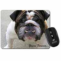 "Bulldog ""Yours Forever..."" Computer Mouse Mat Birthday Gift Idea"