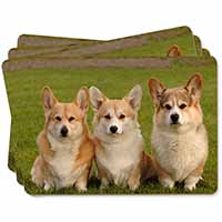 Pembroke Corgi Dogs Picture Placemats in Gift Box